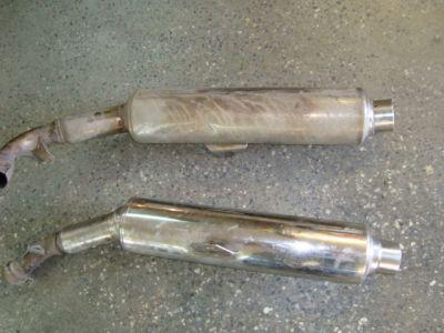 Выхлопная труба для Honda VTR 1000 F