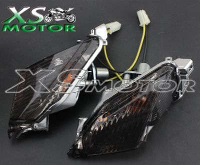 поворотники для мотоцикла Suzuki GSXR1000 09-10, Suzuki GSXR 600/750 11-14 задние чёрные