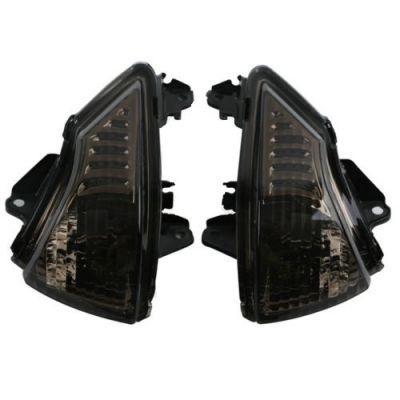 Поворотники темные для Kawasaki 650R EX650 ER-6N ER-6F ER-6R 09-10-11