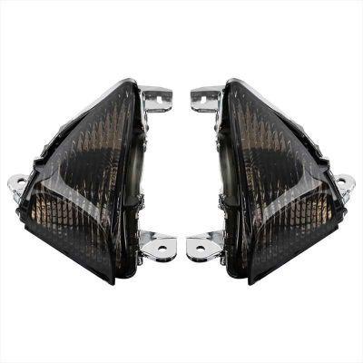 Поворотники темные для Kawasaki Z750, Z 1000 07-09, ER-6N, ER-6F 06-08