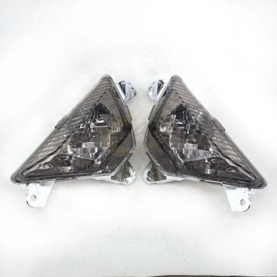Поворотники темные для Kawasaki ZX-6R, 636, ER-6F, Ninja 650 13-15