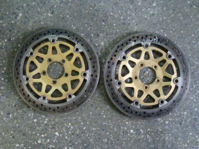 Передние тормозные диски для мотоцикла Kawasaki ZX9R 98-99