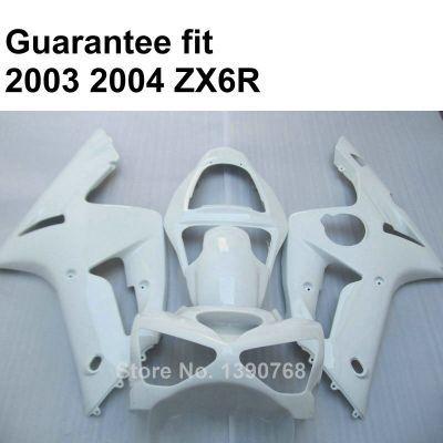 Комплект пластиков для мотоцикла Kawasaki ZX-6R 2003-2004