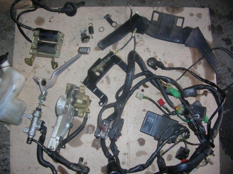 Запчасти Honda CB 500 2000