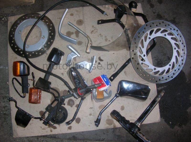 Поворотники и тормозной диск Honda CB 500 2000