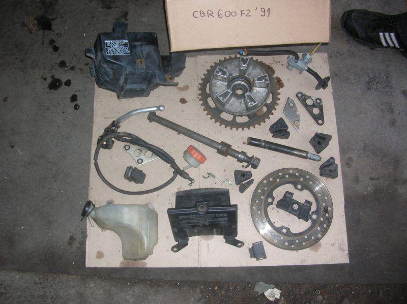 Запчасти Honda CBR 600 F2 1991