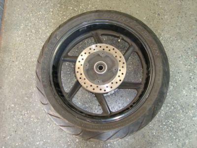 Заднее колесо и тормозной диск для Honda CBR 600 F3