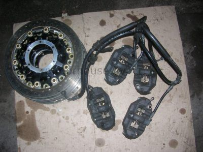 Тормозные диски суппорта звезды Honda CBR 600 RR 2007