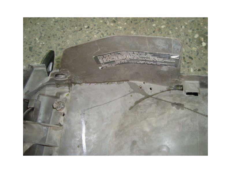 Нижний пластик хвоста для Honda CBR954 RR