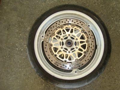 Колесо переднее и тормозной диск для Honda CBR954 RR