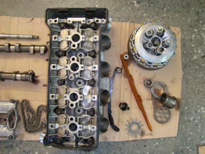 Запчасти головка блока цилиндров для Honda CBR954 RR