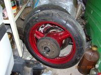 Колеса Honda CBR 1000 F