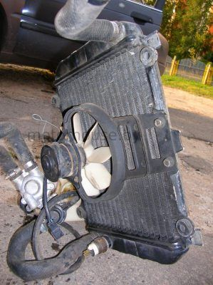 Радиатор Kawasaki GPZ 500 S