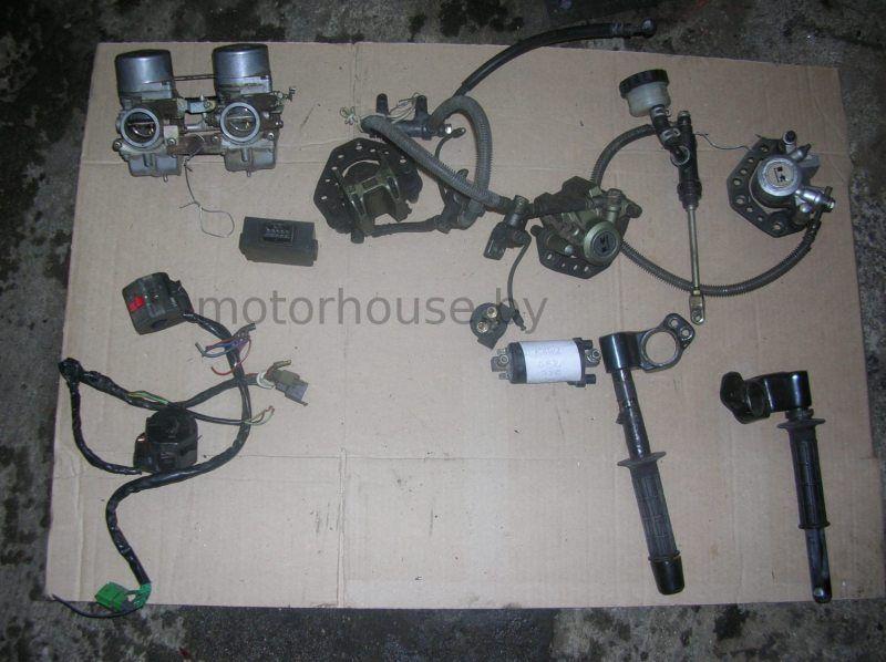 Вентилятор клипоны карбы Kawasaki GPZ 750 F