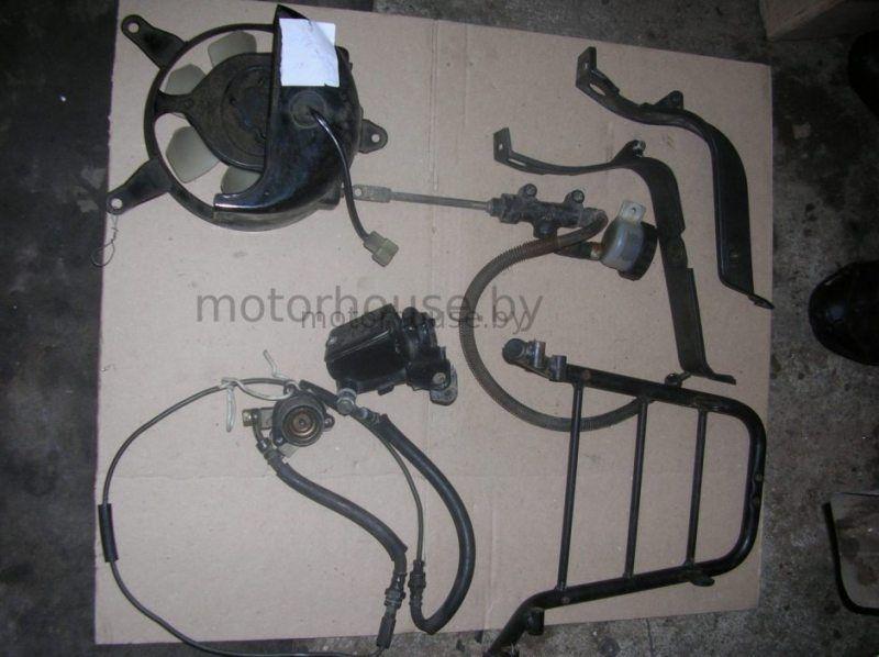 Запчасти и вентилятор Kawasaki GPZ 900