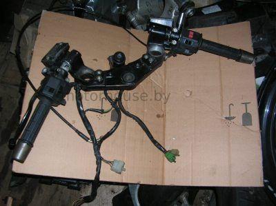 Траверс и правая левая ручка Kawasaki GPZ 900