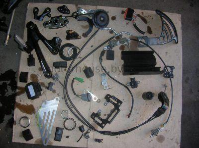 Запчасти и тросики Kawasaki ZX14R