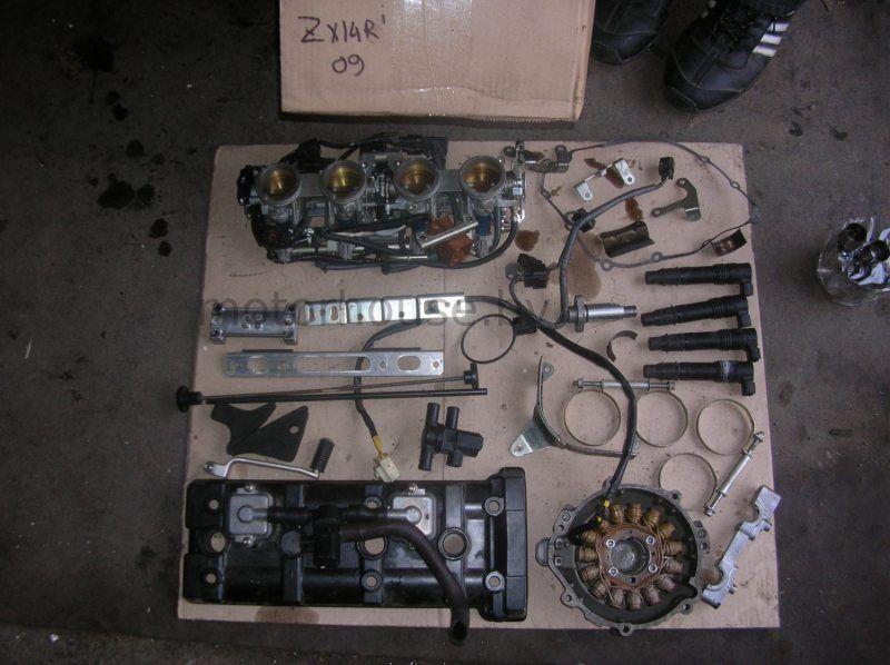 Запчасти и катушки зажигания Kawasaki ZX14R