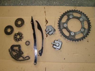 Запчасти цепь звезды для Kawasaki ZX14R