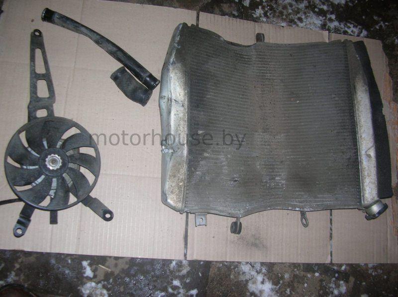 Вентилятор (радиатор) Kawasaki ZX10R
