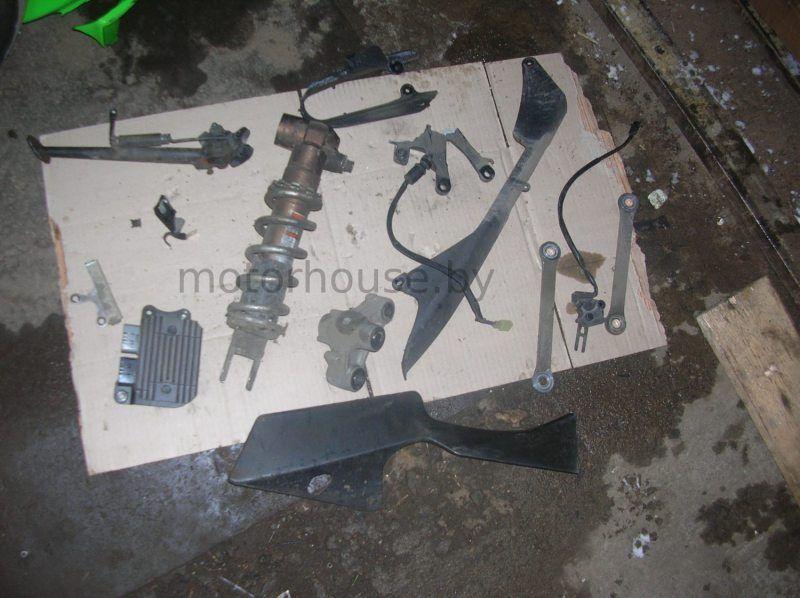 Запчасти амортизатор подножка Kawasaki ZX10R