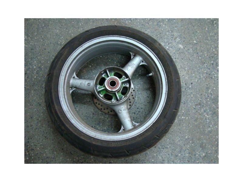 Колесо и тормозной диск для Kawasaki ZX6R 2001
