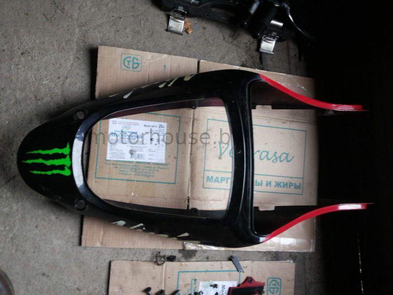 Задний пластик хвост Kawasaki ZX6R 1998