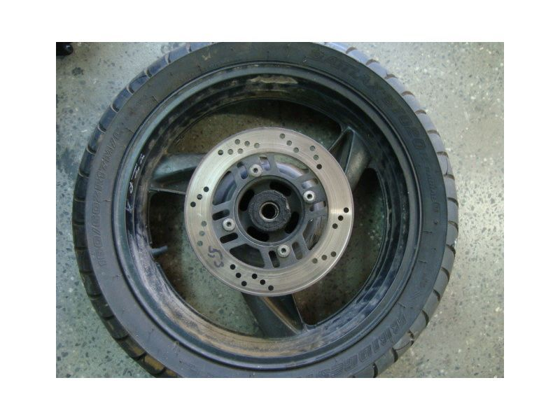 Колесо и тормозной диск для Kawasaki ZZR 600
