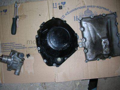 Крышка сцепления поддон масляный помпа Suzuki GSXR 1000 2001-2002
