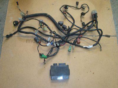 Проводка и мозги Suzuki GSXR600 SRAD