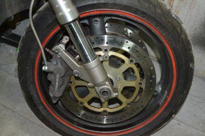 Колесо диски вилка Suzuki GSXR 750 SRAD