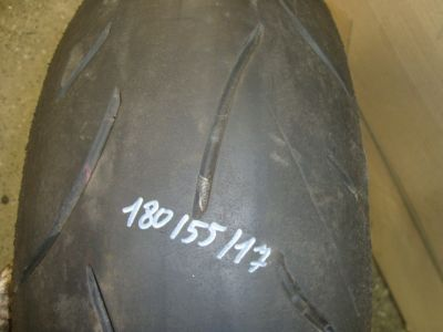 Колесо заднее и тормозной диск для Suzuki GSXR 600 2004