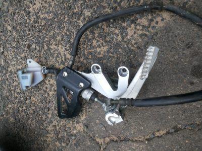 Кронштейн Suzuki GSXR 600 2001-2003