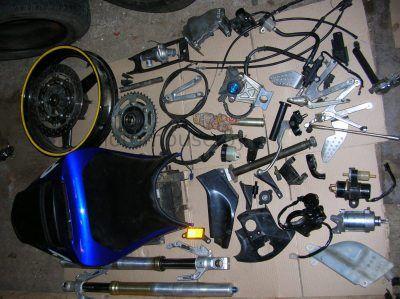 Запчасти бак болотник Yamaha YZF R1