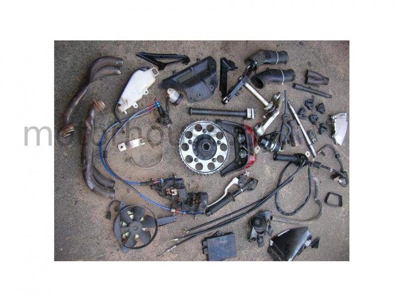 Запчасти вентилятор Yamaha YZF R6