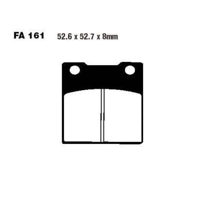 Тормозные колодки EBC FA161HH для мотоциклов Kawasaki