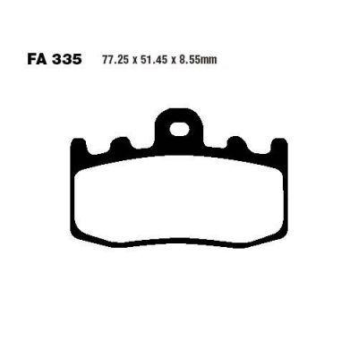 Тормозные колодки EBC FA335HH для мотоциклов BMW K 1200 2001-2008