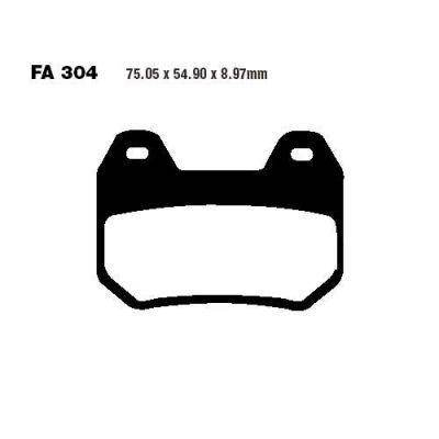 Тормозные колодки EBC FA304HH для мотоциклов BMW K 1200 1999-2009