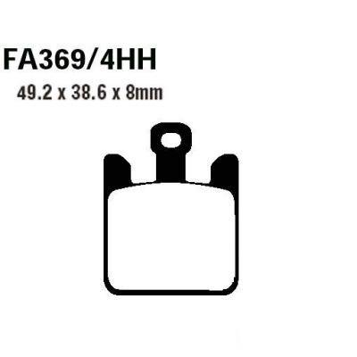 Тормозные колодки EBC  EPFA369/4HH для мотоциклов Kawasaki
