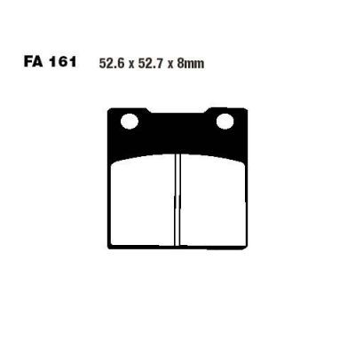 Тормозные колодки EBC FA161V для мотоциклов Kawasaki