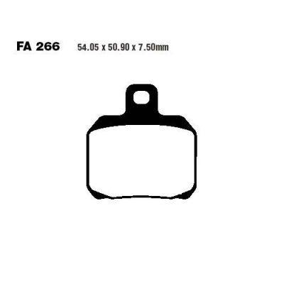 Тормозные колодки EBC SFAC266 для мотоциклов CPI GTR, Derbi , Gilera