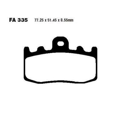 Тормозные колодки EBC EPFA335HH для мотоциклов BMW K 1200 2001-2008