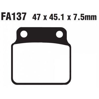 Тормозные колодки EBC FA137TT для мотоциклов Arctic Cat/Textron, Kawasaki, Suzuki