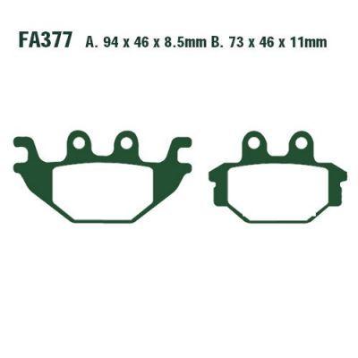 Тормозные колодки EBC FA377R для мотоциклов Adly/Herchee