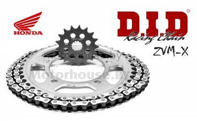 Комплект цепь и звёзды Honda CB 1000 R 08-12 ZVMX